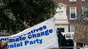 04 climate march at tory hq