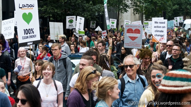 10 climate march at tory hq