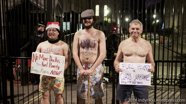 Fuel Poverty at Downing St