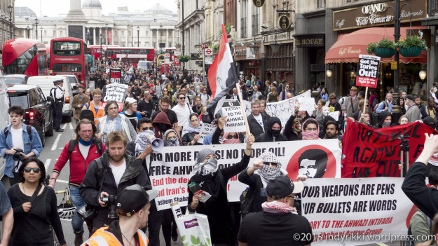 27th may 2015 on day of state opening of parliament, students take to the streets to protest against austerity, cuts, and the tories