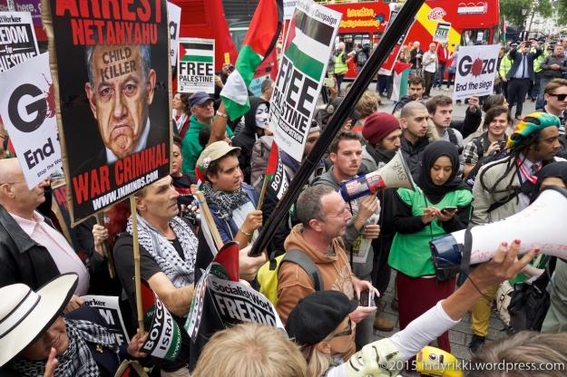 07 Netanyahu protest - ©indyrikki