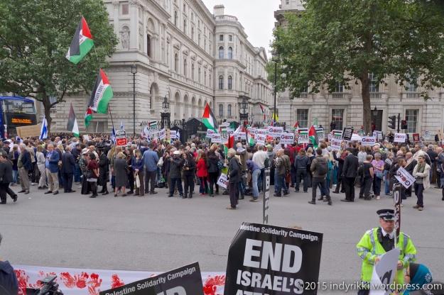 11 Netanyahu protest - ©indyrikki