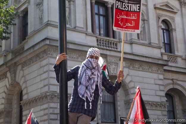 13 Netanyahu protest - ©indyrikki