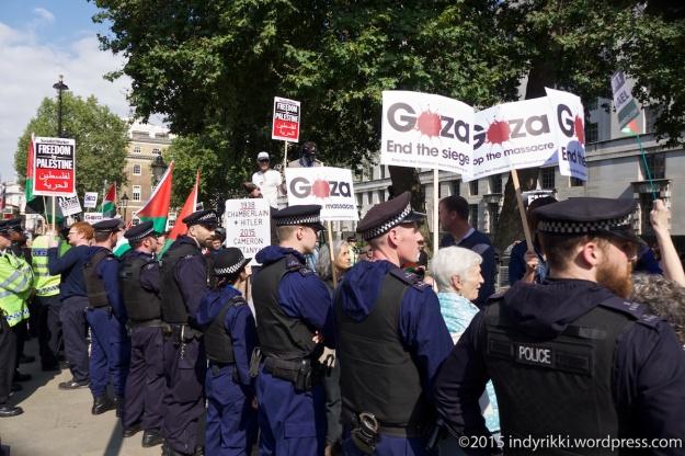 14 Netanyahu protest - ©indyrikki