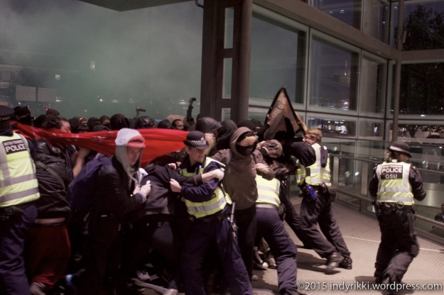 02 eurostar no borders protests - ©indyrikki
