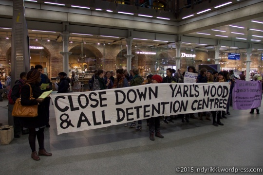 10 eurostar no borders protests - ©indyrikki