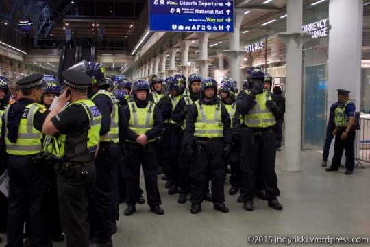 11 eurostar no borders protests - ©indyrikki