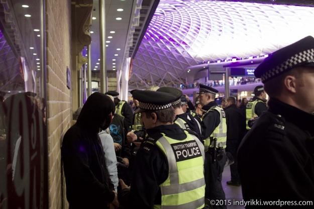 19 eurostar no borders protests - ©indyrikki