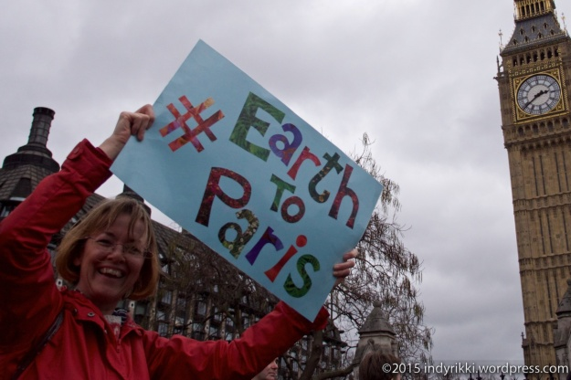 10 london climate march -© @indyrikki