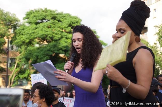 5th August 2016 ¢blacklivesmatter rally in Altab Ali Park, Whitechapel